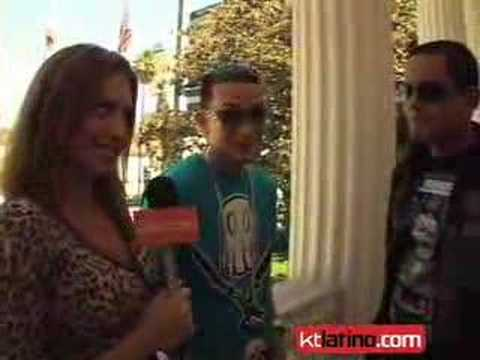 Angel y Khriz talk with KTLATINO.COM's Leticia Preciado