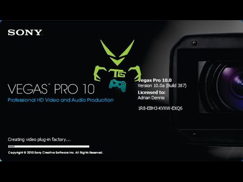 Sony Vegas Pro 10.0 Serial Number and Authentication Code (FREE)