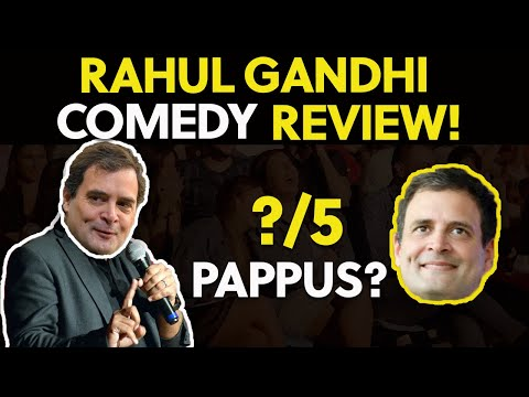 Rahul Gandhi Comedy Video On China REVIEW and Roast!!