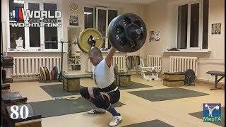 ЗАХАРОВ/ 13.09.2018. Рывок - 77, 80 кг (ЦЕЛЬ-100/130) Подготовка к Осени-2018.