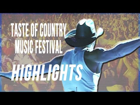 Taste of Country Music Festival - The Best from Country Music's Woodstock
