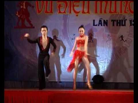 """Dance Sport """"Vũ Điệu Mừng Xuân"""" 2008 - Lam Anh & Huy Hoàng"""