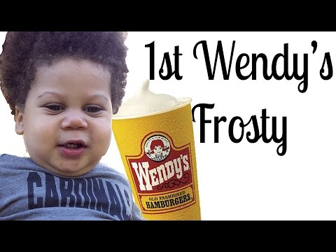 Baby's First Wendy's Frosty