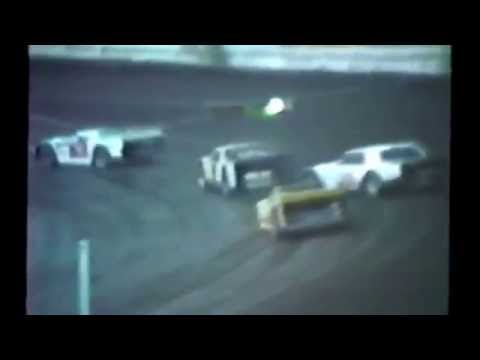 1985 races at Dakota State Fair Speedway #3 sportsman heat races