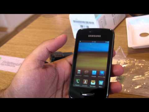 Samsung Wave Y S5380 review HD ( in ROmana ) - MWC2012 - www.TelefonulTau.eu -