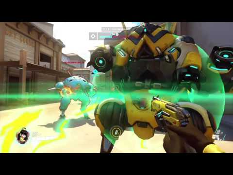 Overwatch MP July 31, 2016 pt5 - A Team of Tracers?!