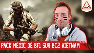 Pack Medic de BF1 sur BC2 Vietnam