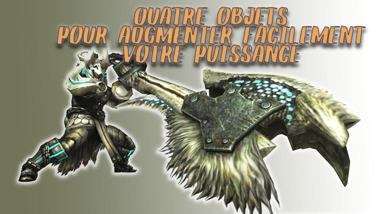 4 objets à acheter pour augmenter votre puissance sur Monster Hunter World