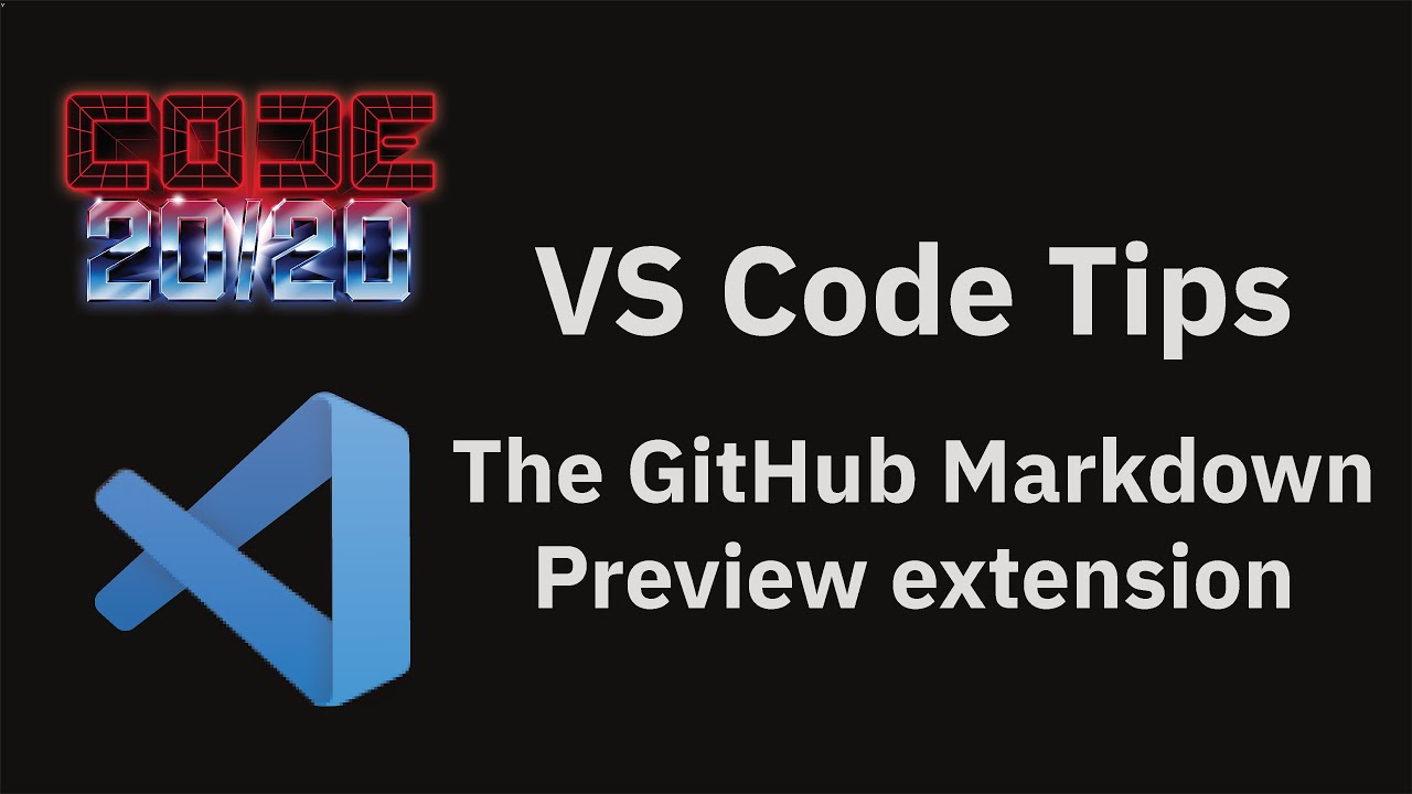 The GitHub Markdown Preview extension