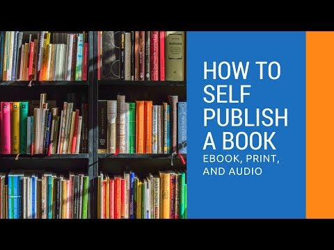 How to Self Publish a Book in Ebook, Print, and Audio