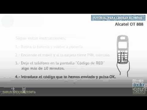 Liberar móvil Alcatel OT 808 | Desbloquear celular Alcatel OT 808