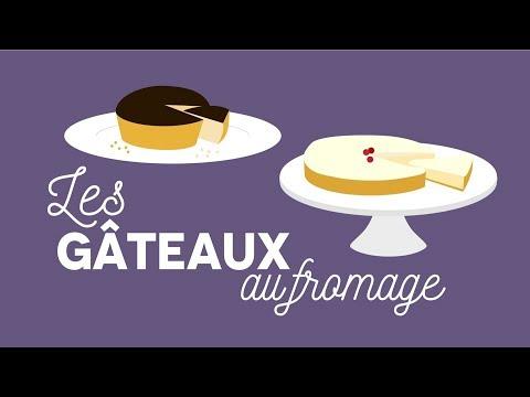 Les gâteaux au fromage - Les Carnets de Julie