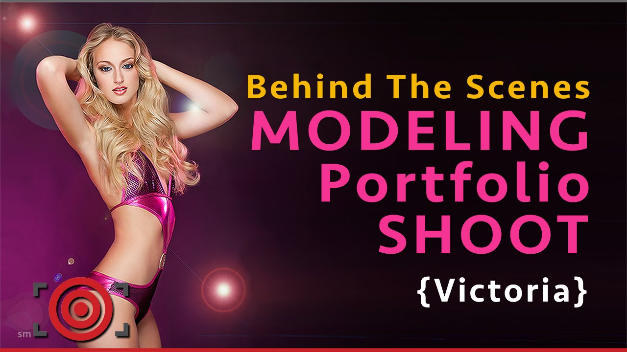 Behind the scenes at a modeling portfolio photo shoot youtube