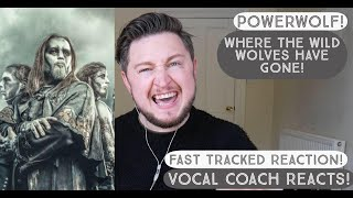Vocal Coach Reacts! POWERWOLF! Where The Wild Wolves Have Gone!