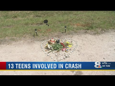 North Port High School students grieve for student killed in weekend DUI crash
