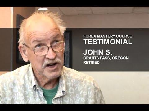 Forex Mastery Course Testimonial | John S.