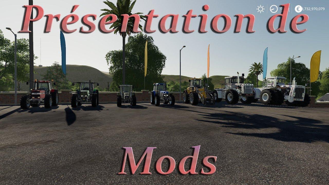 ( PS4 - XBOX - PC ) FS19 / Présentation de Mods