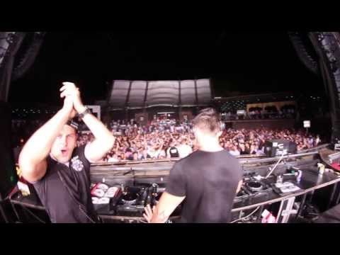 Wise D & Kobe with FEDDE LE GRAND @ TOP HILL Budva 2013
