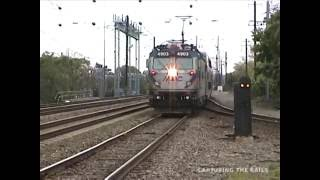 CSX Morning / Amtrak Afternoon - Perryville, MD - 5/11/2000