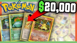 RARE POKEMON CARDS WORTH MONEY - MOST VALUABLE POKEMON CARDS!!