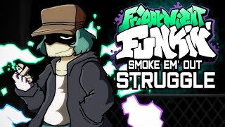 Friday Night Funkin - V.S. Garcello FULL WEEK - Smoke Em Out Struggle FNF Mods