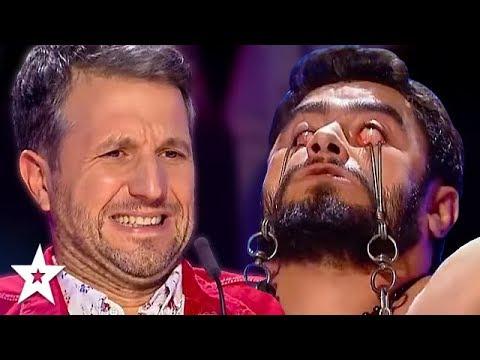 Judges Can't Watch DANGEROUS Audition on Romania's Got Talent! | Got Talent Global