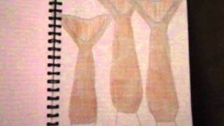 My Mermaid Art (H2o Just Add Water and Hannah Mermaid)
