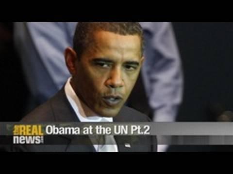 Obama at the UN Pt.2