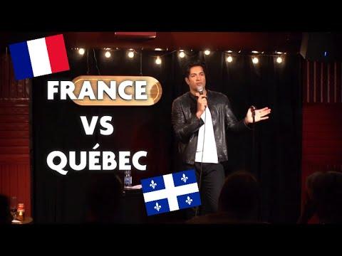 Sugar Sammy: meilleurs moments France vs Québec