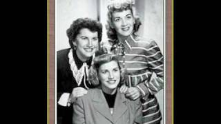 The Andrew Sisters - Hold Tight, Hold Tight (Want Some Sea Food Mama)