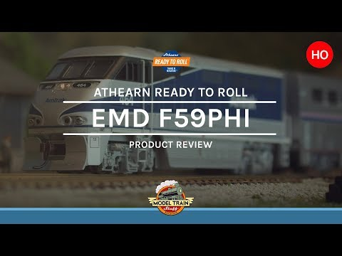 HO Scale Athearn F59PHI with DCC & Sound