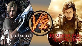 [Игра VS Фильм] Resident Evil 4   Обитель Зла: Вымирание