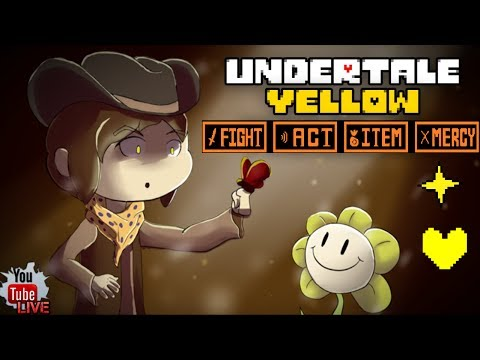 Undertale Yellow + Overtime Undertale | Fan Game The Justice Soul