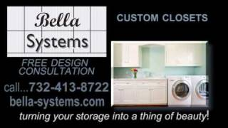 Bella Systems Custom Closets Nj, Nyc & Pa