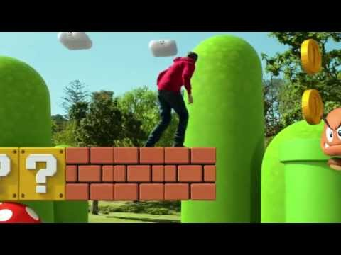 Super Mario 3D Land Live Action Trailer - Warp Pipe