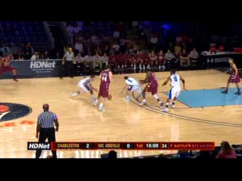 UNC Asheville vs College of Charleston (part 1)