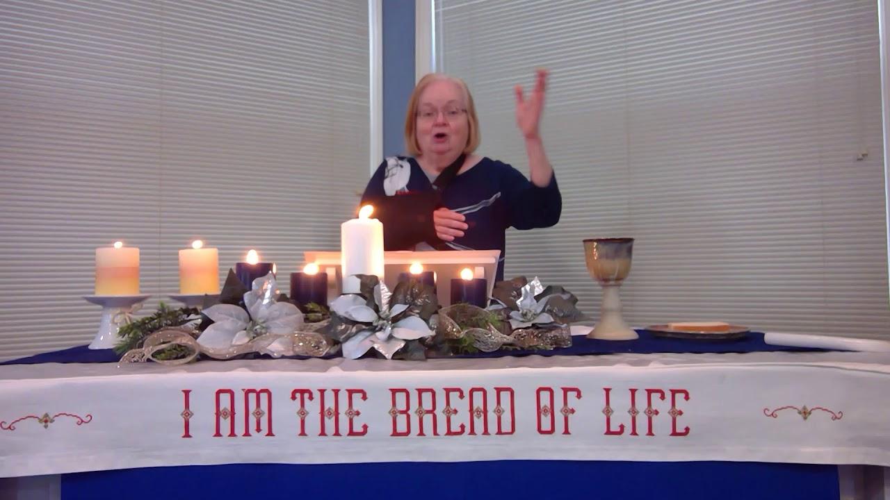 "January 3, 2021 ~ Rev. Julia Price ~ ""What Is Worth Saving?"""