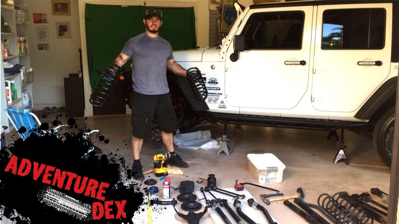 Teraflex 4 lift kit installation jeep wrangler diy tutorial youtube teraflex 4 lift kit installation jeep wrangler diy tutorial solutioingenieria Images
