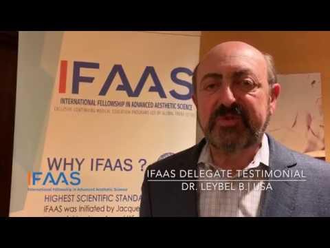 IFAAS Delegate Testimonial - Dr  Leybel B  | United States
