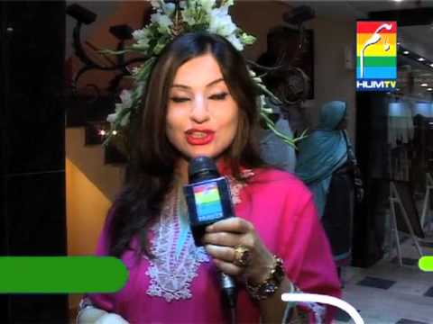Launch of SILK by Fawad Khan - HUM TV Report