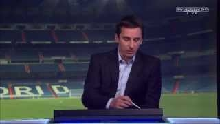 Gary Neville excellent analysis of Cristiano Ronaldo