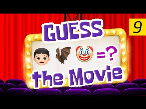 Can You Guess All The Movies?   Emoji Challenge 9 😃