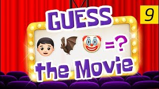 Can You Guess All The Movies? | Emoji Challenge 9 😃