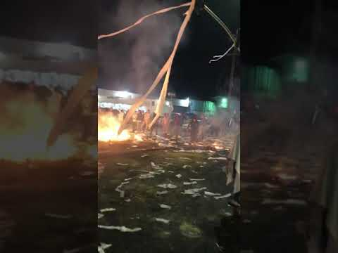 Crystal Rosas - Oakland Sideshow Left Streets Trashed, Trucks on Fire and Looted