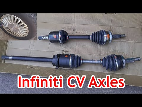 Wheel Vibration?  Infiniti (Nissan Maxima) CV Axles Replacement