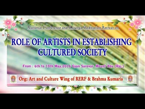 Reception session Art & Cultural wing LIVE  6-5-16 at 6.30 Gyansarovar