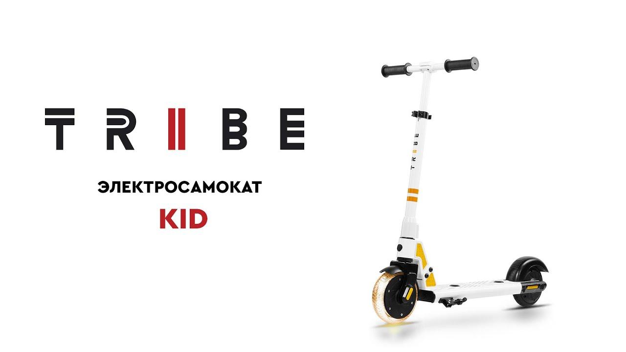 Обзор детского электросамоката TRIBE Kid