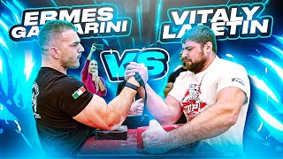 VITALY LALETIN vs ERMES GASPARINI + WHO HAS THE STRONGER GRIP?