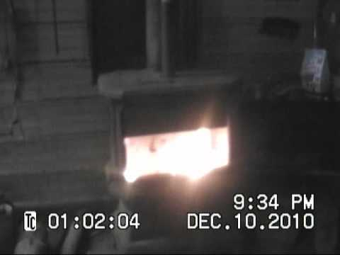 How to: Start a Fire in a wood stove, with gasoline explosion. - How To: Start A Fire In A Wood Stove, With Gasoline Explosion