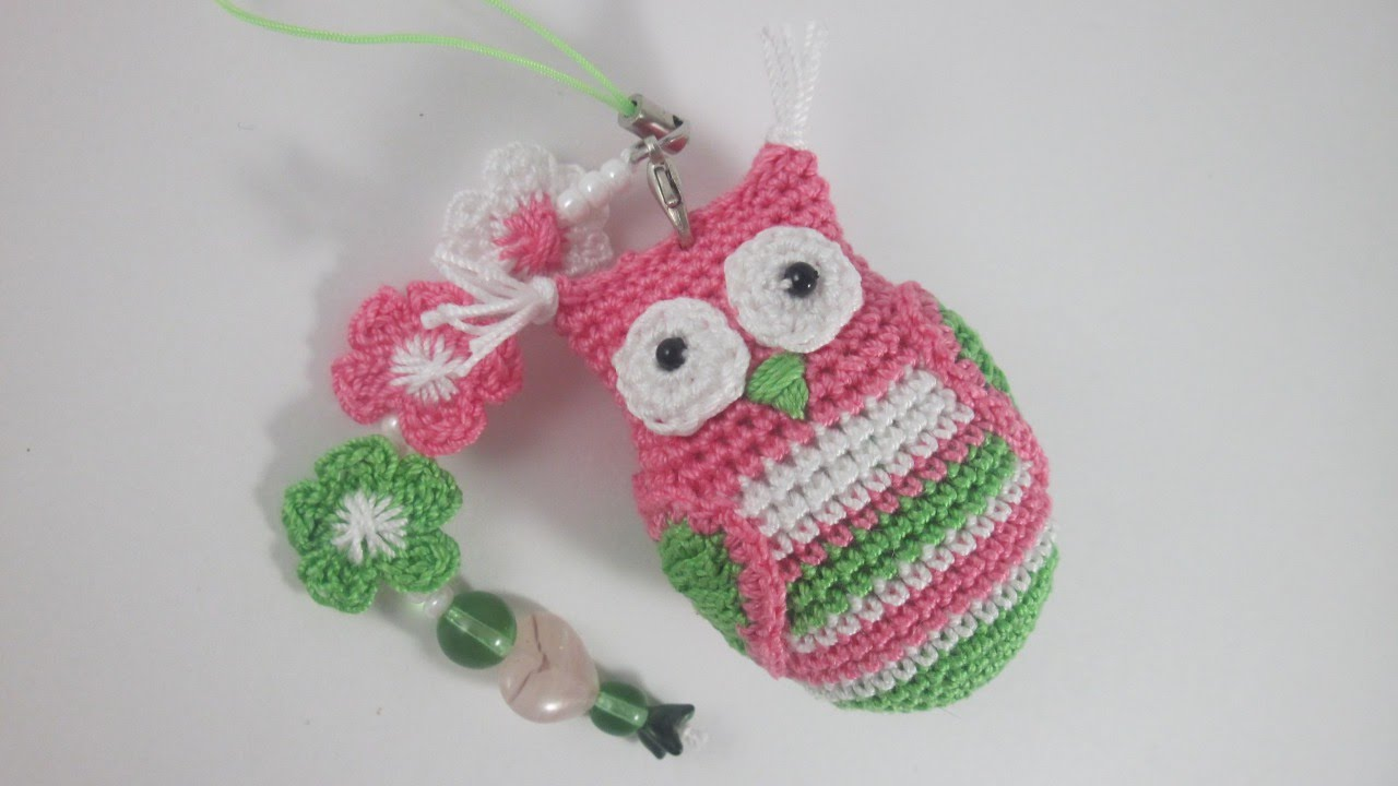 Free Crochet Pattern Owl Keychain ~ Dancox for .